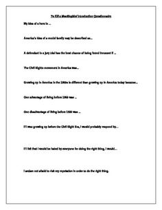 To Kill a Mockingbird Plotlines Activity   Mockingbird   Pinterest ...