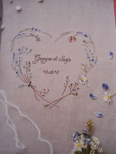 Image result for helene le berre cross stitch heart