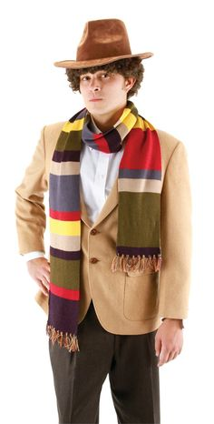 4Th Doctor Scarf 6Ft