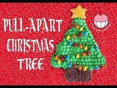 ▶ Easy Christmas Tree Pull-Apart Cupcake Cake! A Cupcake Addiction How To Tutorial - YouTube