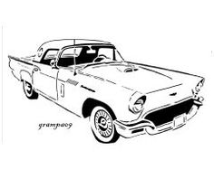 86 best cars images transportation jeeps jeep 1956 Shelby GT350 image car prints wood burning patterns car drawings ford thunderbird scroll saw