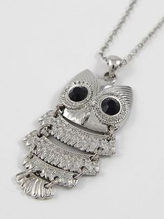 Owl Pendant Necklace - $10.00 : FashionCupcake, Designer Clothing, Accessories, and Gifts