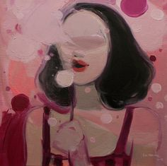 "Saatchi Online Artist: Liu Chenyang; Oil, 2013, Painting ""You!"""