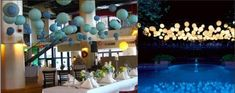 lanterne-mariage-bleu-clair Blue Wedding, Table Decorations, Outdoor Decor, Home Decor, Buffet, Wordpress, Boutique, Future, Food
