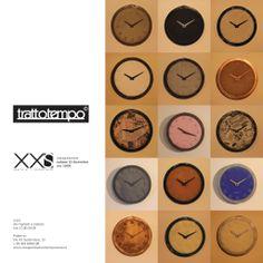 15 dicembre 2012 // Inaugurazione mostra presso XXS #orologio #trattotempo #fabriziopollaci #design #tempo