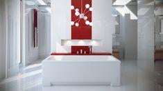 Wanna prostokątna Optima. Nowoczesne wnętrze łazienki tylko z Optimą!