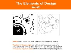 The Elements of Design                              ContrastContrast refers to any variation between elements within a com...