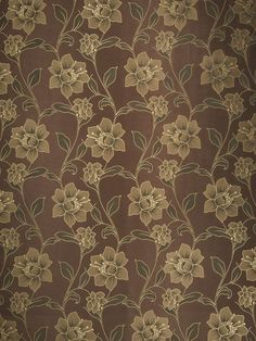 7035008 02077 Mocha by Trend Trend Fabrics, Jacquard Fabric, Mocha, Swatch, Free Shipping, Patterns, Floral, Block Prints, Flowers