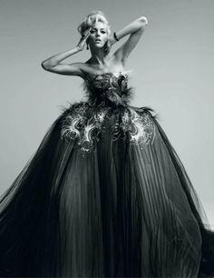 Anja Rubik for Vogue Japan May 2012