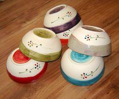 cuencos de cerámica artesanal