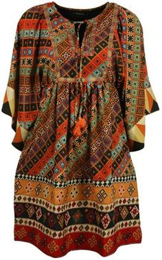 ShopStyle: Living Doll Casablanca Kaftan