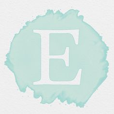 AESTHETIC WATERCOLOR SEAFOAM