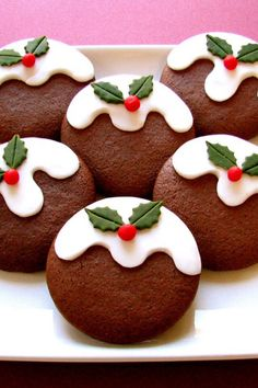 Christmas ornament cookies.