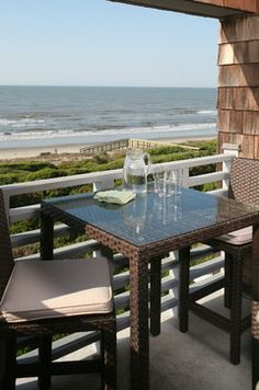 Beach Cottage Patio Design Ideas, Pictures, Remodel and Decor
