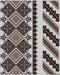 Cross stitching , Etamin and crafts: Traditional cross stitch Pattern Cross Stitch Borders, Cross Stitch Designs, Cross Stitching, Cross Stitch Patterns, Folk Embroidery, Cross Stitch Embroidery, Embroidery Patterns, Broderie Bargello, Mochila Crochet