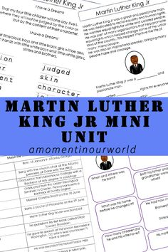 Martin Luther King Jr was born on the 15th January 1929. During his lifetime, he held many positions including an American Baptist minister, activist, humanitarian and was a leader in the African-American Civil Rights Movement.He is known as being one of the most important voices in the American Civil Rights movement andwas assassinated on the …
