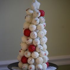 Cake truffle tree  www.facebook.com/beckabooscakes