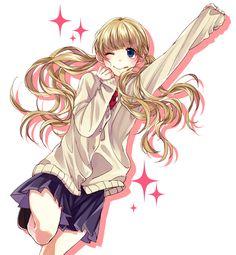 [Honeywork] Kinyoubi no Ohayou - Narumi Sena Chica Anime Manga, Kawaii Anime, Anime Art, Happy Tree Friends, Vocaloid, Koi, Zutto Mae Kara, Kaito Shion, Honey Works