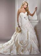 #maggiesottero #bridal #dynasty #organza #layers #corset #sash #flowers #ivory #onsale #winterhaven #tampa #Orlando #Lakeland  #polkcounty #centralfl #angeliquebridalbygina