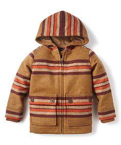 This Dulce de Leche Sebastian Estancia Hooded Jacket - Boys is perfect…