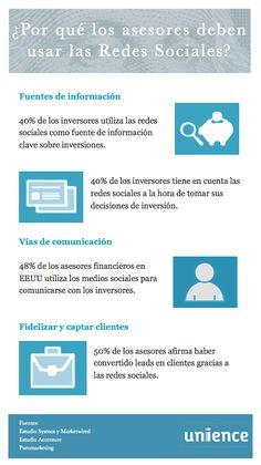 ¿Por qué los asesores deben usar las redes sociales? Infografía