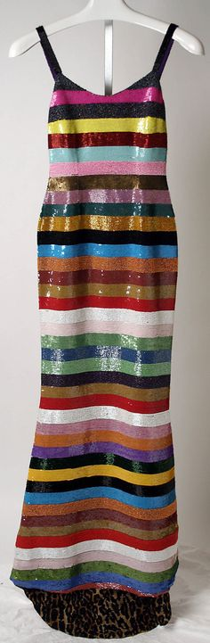 1995 Todd Oldham Evening dress Metropolitan Museum of Art |