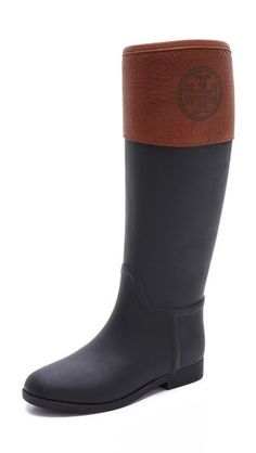 Tory Burch 'Diana' riding rain boots