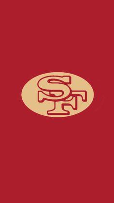 """""""Minimalistic"""" NFL backgrounds (NFC West) - Imgur Nfl 49ers, 49ers Fans. """""""