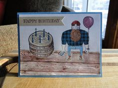 Happy Birthday, Nancy by Misermom - Cards and Paper Crafts at Splitcoaststampers