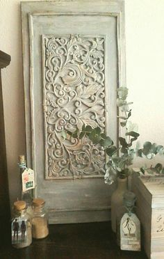 Deurmat op een deur