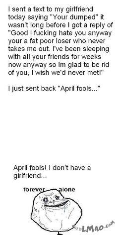 Lawl.. you will love this! April