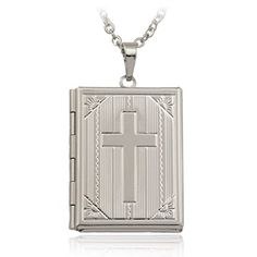 Glucky  Floating Locket Necklace Yellow Gold Plated WomenMen Jewelry Trendy Cross Necklaces Pendants For Memory Gift P316 * Check out the image by visiting the link.