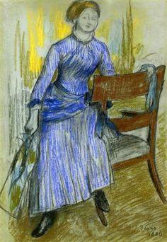 Helene Rouart (Mme. Marin) - Edgar Degas
