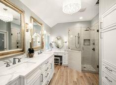 Bathroom Shop, Bathroom Storage, Modern Bathroom, Master Bathroom, Painting Bathroom Cabinets, Bathroom Vanity Cabinets, Discount Bathroom Vanities, Transitional Bathroom, Beautiful Bathrooms