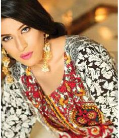 Lala Classic Embroidered Linen Suits collection LLE_09B
