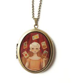 The Fortune Teller locket $55