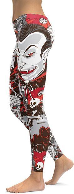 Pink /& Grey Swirl Abstract Design Women/'s Leggings PS Plus Size TC 12-20