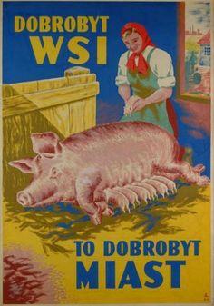 Art Deco Posters, Vintage Posters, Poland People, Polish Posters, Old Advertisements, Retro Illustration, Illustrations, Retro Design, Photo Art