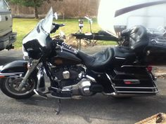 Harley Davidson electra glide classic comfortable ride