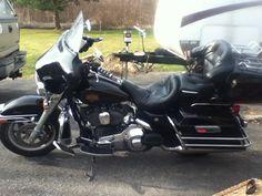 Harley Davidson electra glide classic comfortable ride