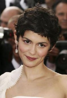The Best Celebrity Pixie Haircuts: Audrey Tautou Pixie Hairstyles