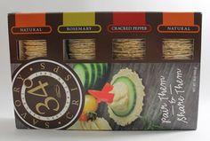 34 Degrees Savory Crisps Variety Pack BB 11/2017 #32Degrees