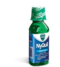 Nyquil....my cure-all for EVERY time I am sick. I honestly think it works because it forces you to SLEEP and get the rest you truly need. Either that, or it's just plain magical.