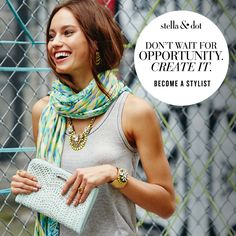If you've ever considered signing as a Stella & Dot Stylist... Get ready! Not only will you get an extra $100 in product credit, but if you hit your Quick Start, you'll get your $ back for your starter kit! And just wait until you see the Spring Collection! Hello 2015!!!!! Www.stelladot.com/Sites/kellywarkentin