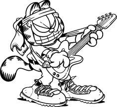 Rádio Kiss FM - 102.1v- Facebook:  #Naçãoroqueira Há 38 anos, o desenhista Jim Davis lançava o personagem Garfield, um gato preguiçoso e viciado em lasanha.