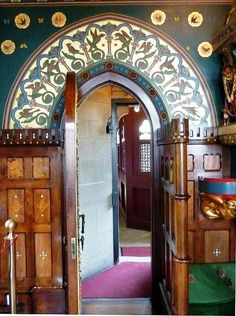 Winter Smoking Room Cardiff Castle Designed By William Burges