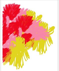 5833b8032646 Pink red yellow Colorful Paintings