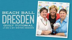 Make a Beach Ball Dresden with Jenny and Me & My Sister - YouTube