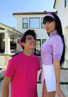 Couples Halloween Outfits, Cute Couples Costumes, Cute Couple Halloween Costumes, Trendy Halloween, Halloween Kostüm, Costumes For Couples, Celebrity Halloween Costumes, Halloween Disfraces, Barbie