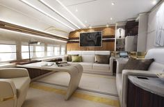 Ha Speso 400 Milioni Di Sterline Per Trasformare Un Boeing-747 in una Casa di Lusso Volante !! - Funny Italia
